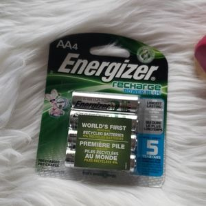 Energizer Recharge Double A AA 2300mAh Batteries